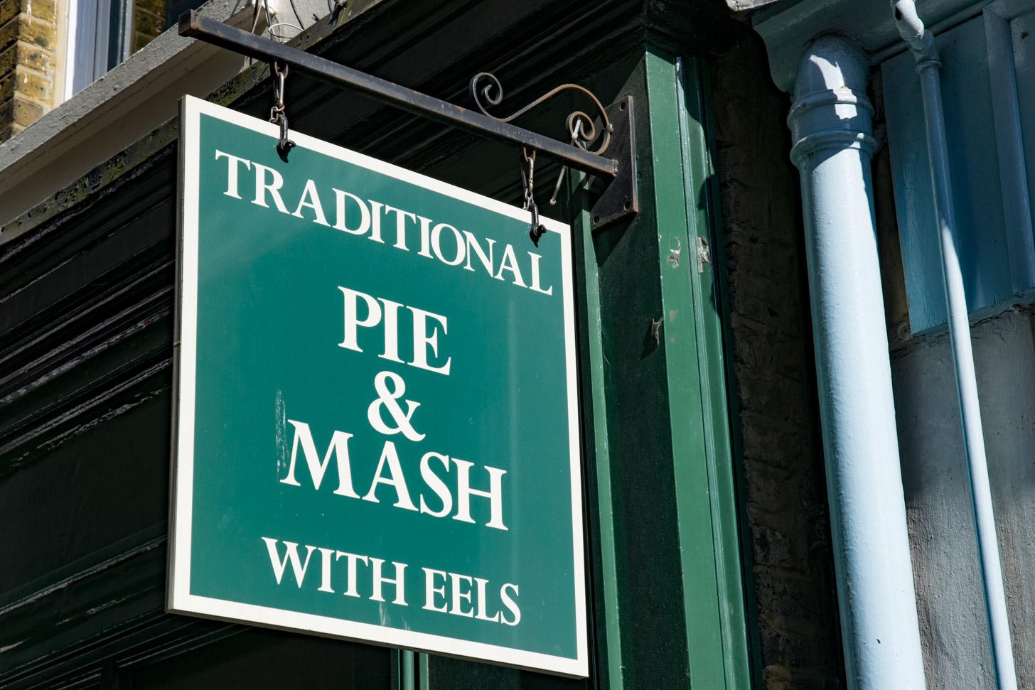 Typisch Britse gerechten in de pub