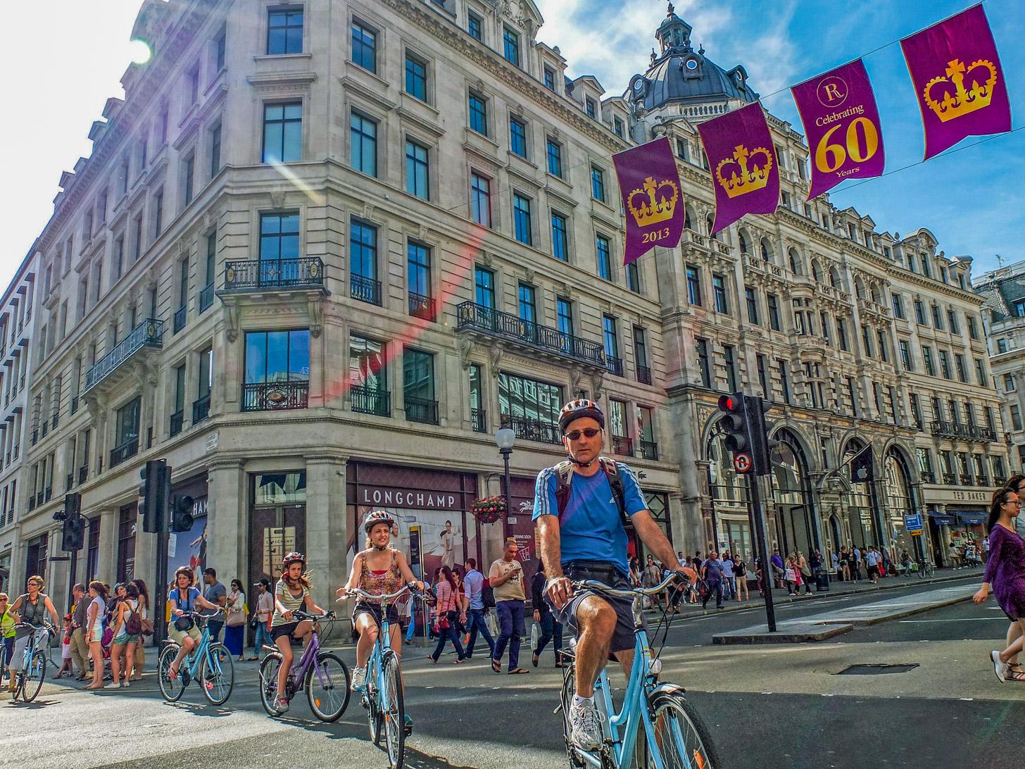 Fietstocht door Londen met BajaBikes
