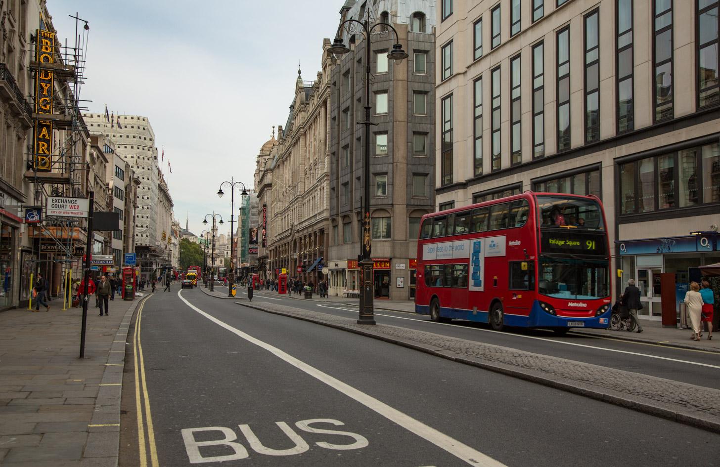 Londen straatbeeld