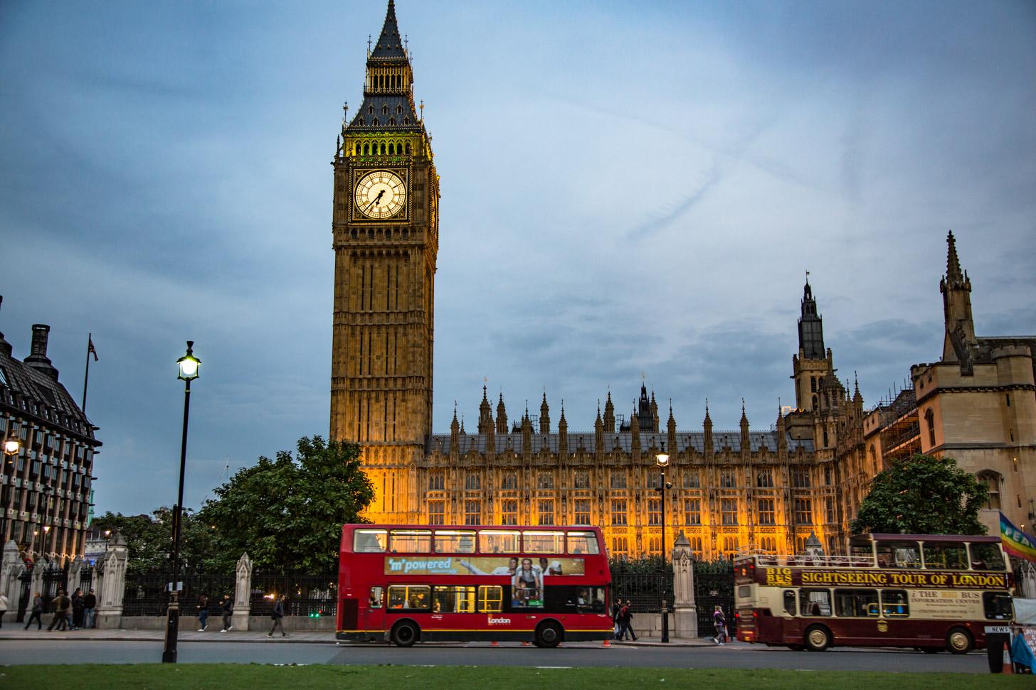 De Big Ben als symbool van Londen
