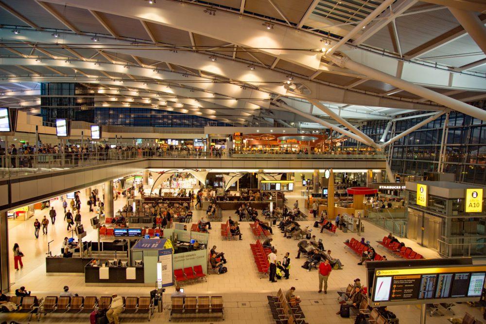 Luchthaven aansluiting het aansluiten van de haak