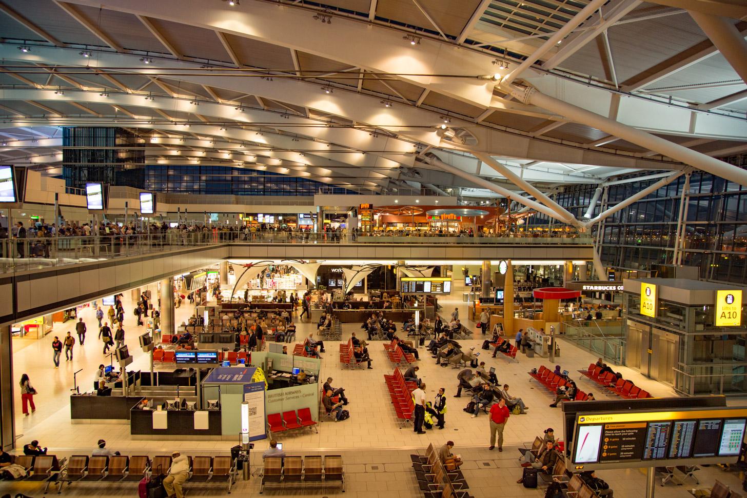 Terminal van Heathrow Airport