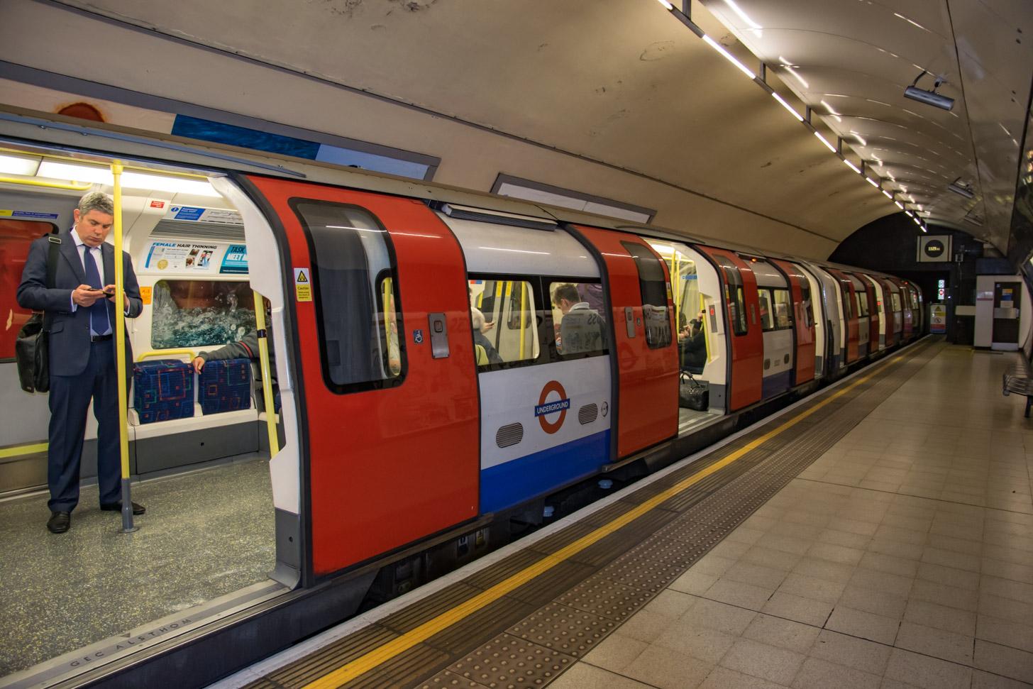 De metro van Londen