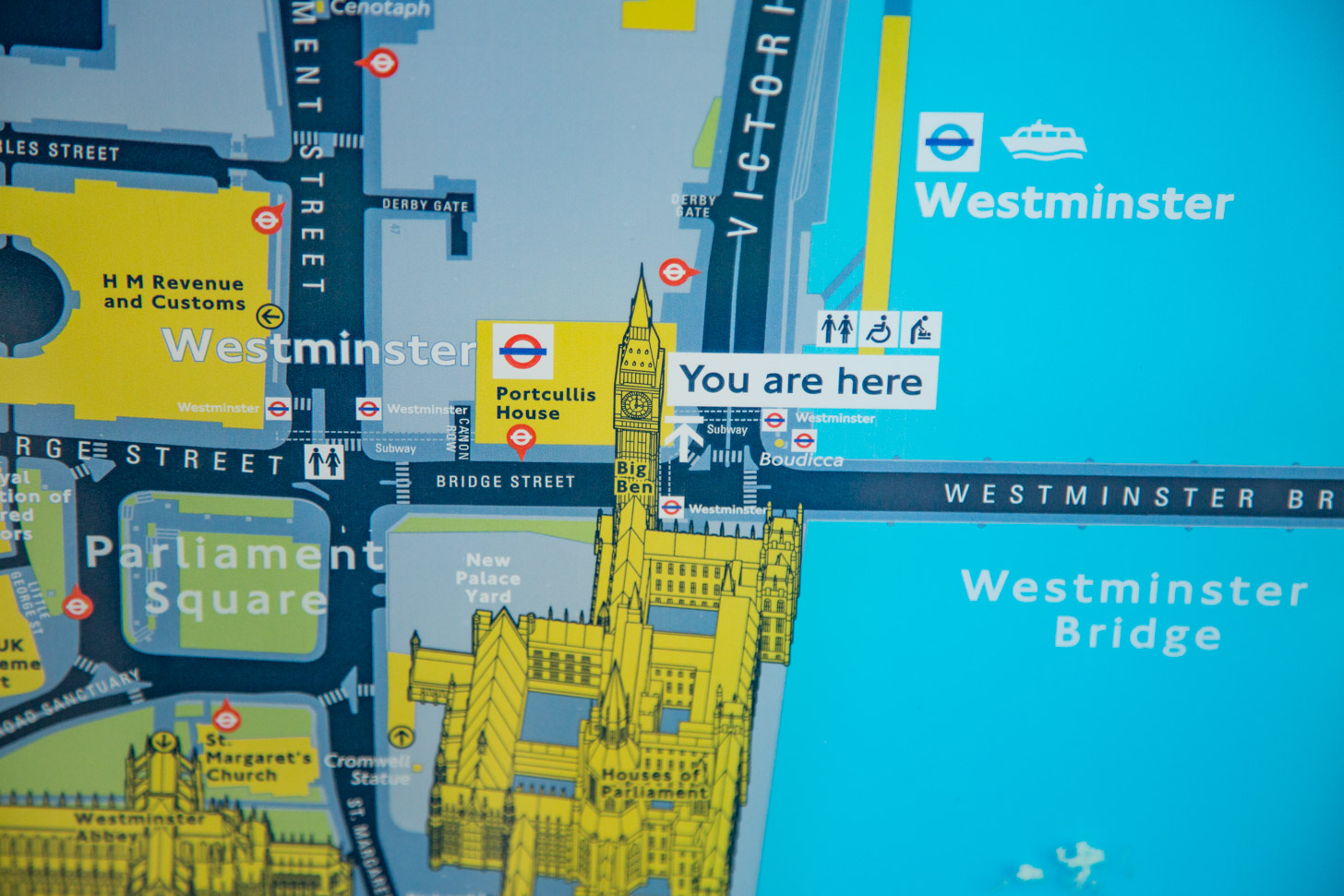 Goede plattegronden maken het de toerist gemakkelijk