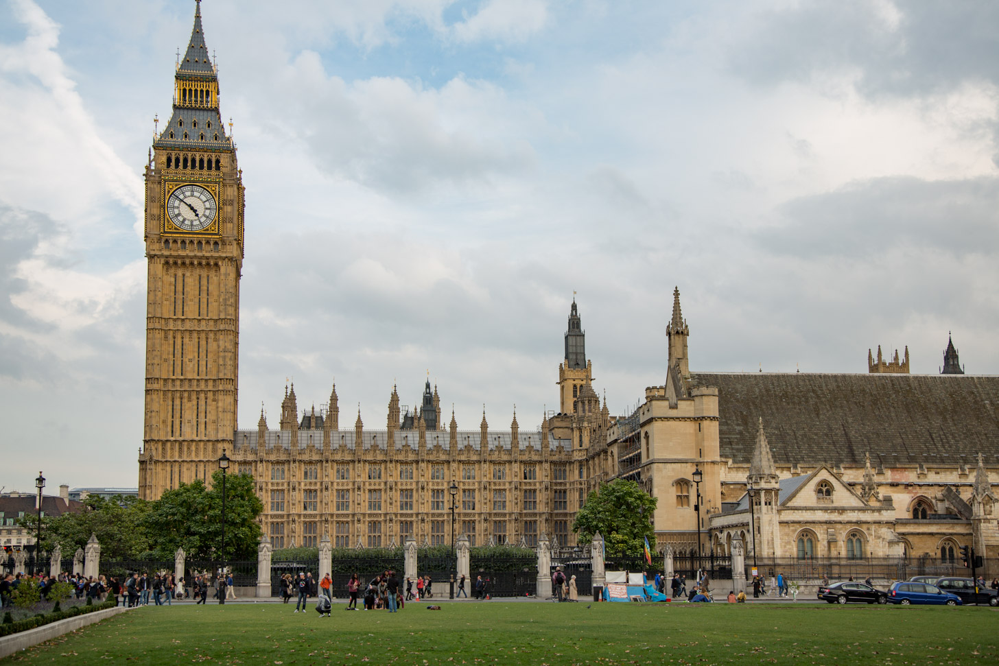 Palace of Westminster en de Big Ben