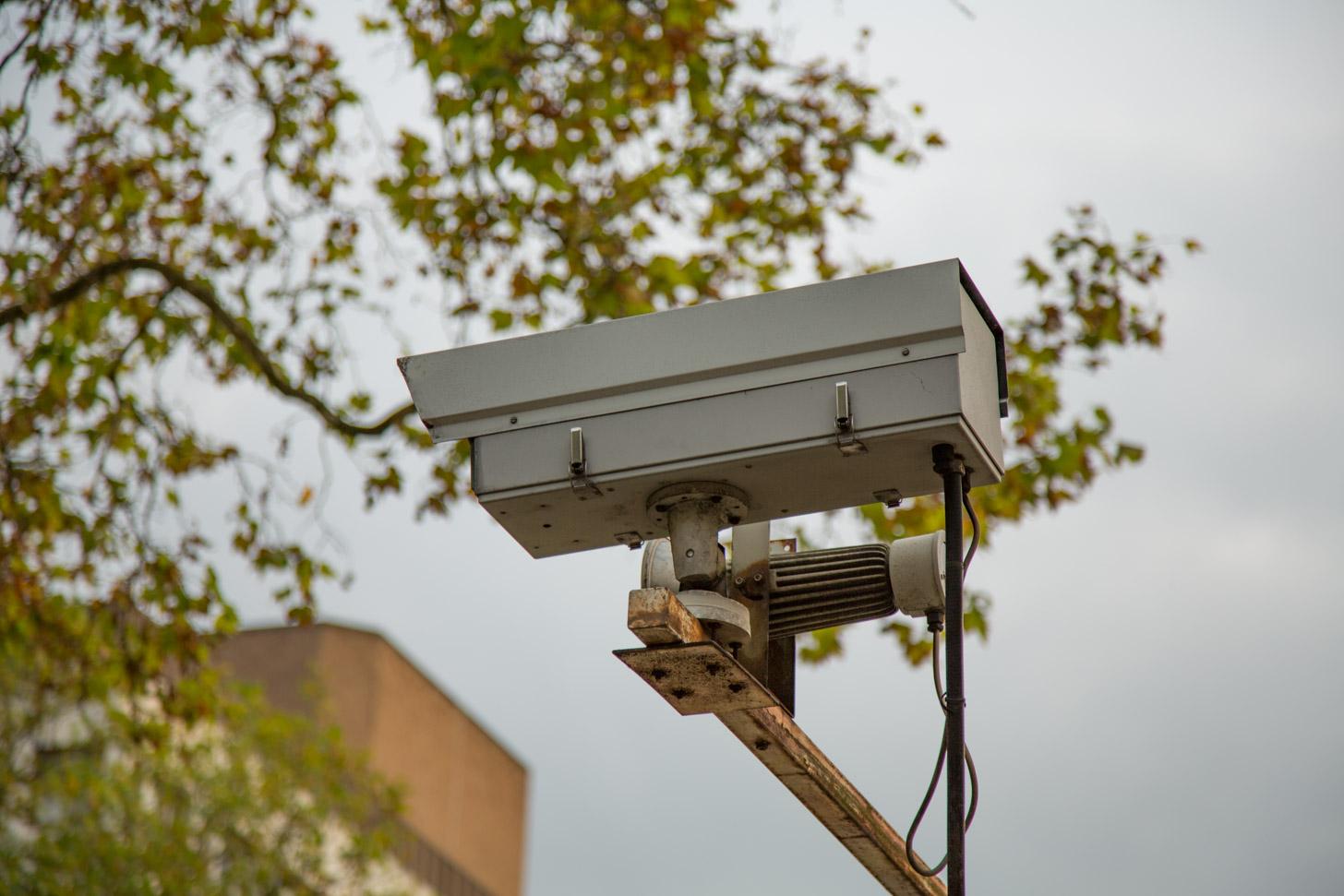 Door heel Londen hangen camera's om alles in de gaten te houden